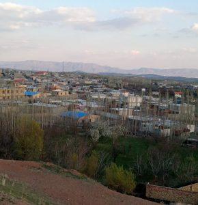 Read more about the article نمایی زیبا از غروب روزهای عید روستای آونلیق در پانزدهمين روز سال 1400
