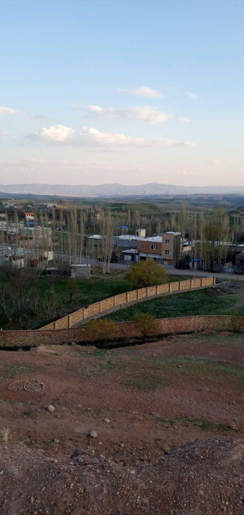 روستای آونلیق نمایی از جاده ابریشم